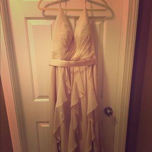 White by Vera Wang  bridesmaid dress, size 8.